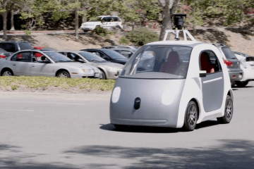Google self driven car prototype