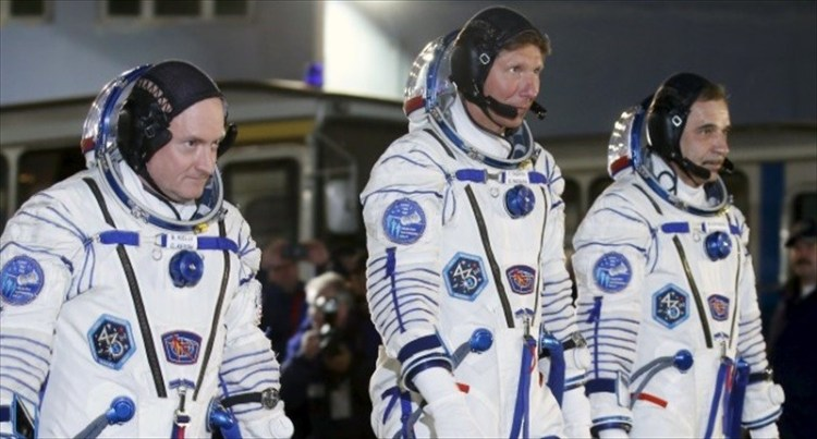 US-Russian crew sent to international space station for a year-long Sojourn