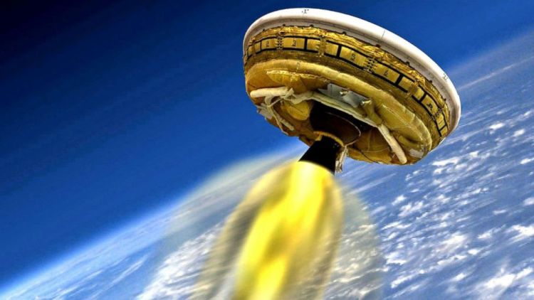 """New """"flying saucer"""" technology tested by NASA"""