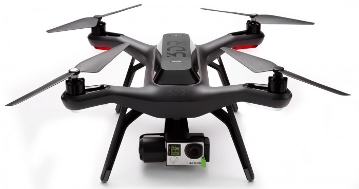 Solo, the new drone from 3D Robotics