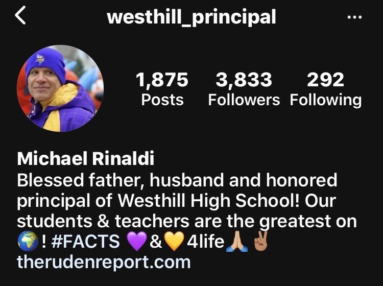 Image for Do you follow @westhill_principal on any social media platform?