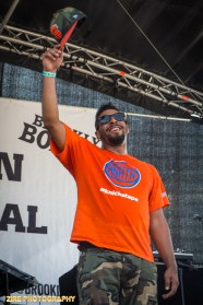 Tap Dancer Jason Samuels Smith at the 11th Annual Brooklyn Hip-Hop Festival held at Williamsburg Park on July 11, 2015 in Brooklyn, NY