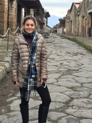 Jacqueline enjoys Italy!