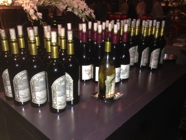The 2013 Far Niente lineup at Bourbon Steak ALSO included different vintages (and generous pours) of their signature Cabernet Sauvignon.