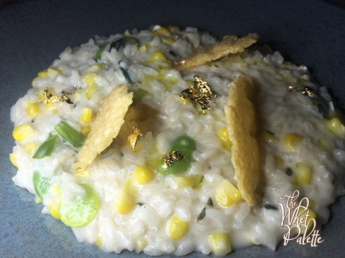 House-made Ricotta and Corn Risotto