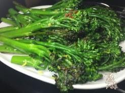 (Broccolini- not on the Miami Spice menu)