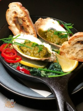 Wood Grilled Oysters