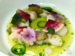 Nantucket Bay Scallops Aguachile