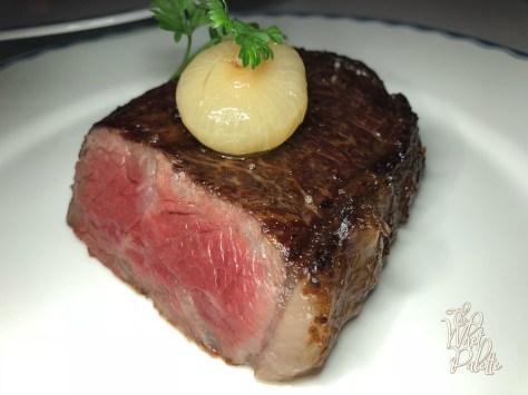Half of the New York Strip Steak