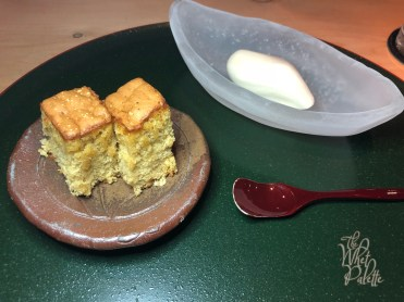 Organic kasutera honey cake and NAOE ice cream