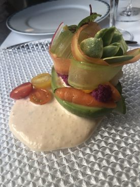 Hass Avocado and Spring Vegetable Louie