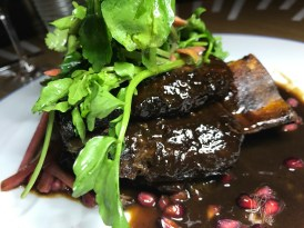 Pomegranate Glazed Short Rib