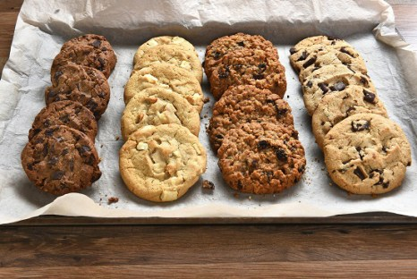 Tray of Fresh Baked Cookies