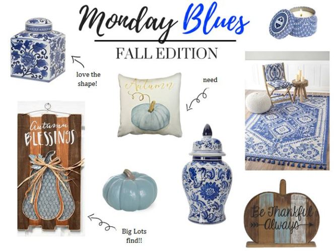monday blues collage