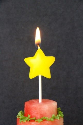 Star on fire!