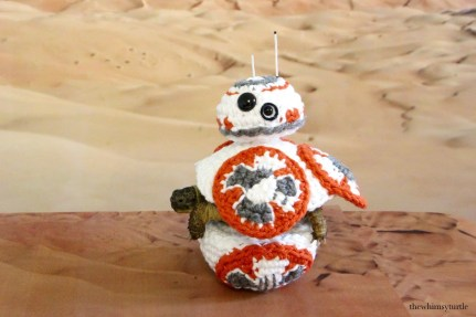 Are you sure BB-8 spends time in a desert?