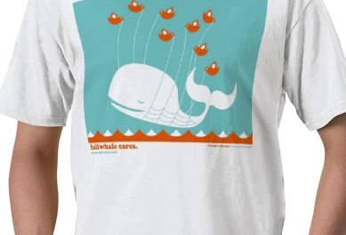 Contest: Recommend me to your Twitter followers & win a FAIL Whale T-shirt