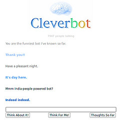 cleverbot is not fully automated