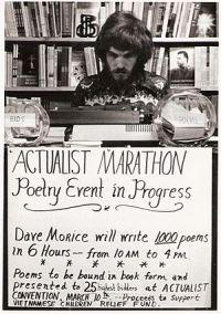 1st Actualist Poetry Marathon