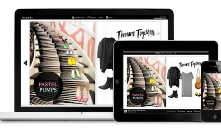 Using Glossi's magazine style image collections to promote your books or webstore
