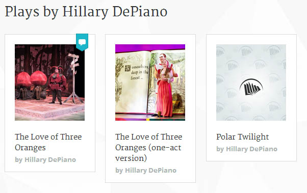 Plays by Hillary DePiano