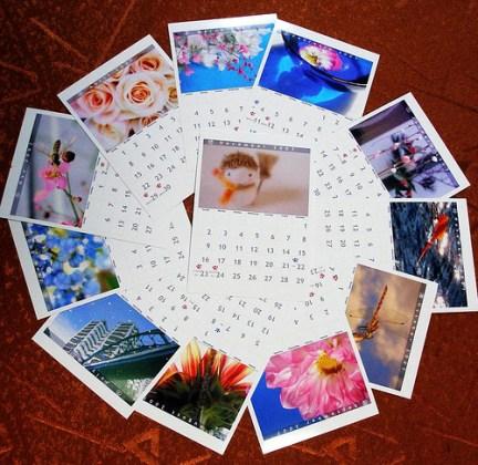 calendar page photo