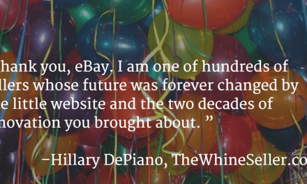 Happy 20th Birthday, eBay! (Only like, 10% sappy love letter, I promise!)