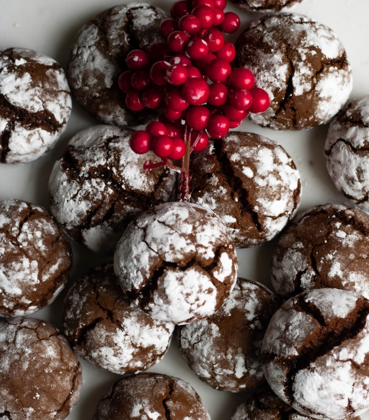 Chocolate Crinkle Cokies