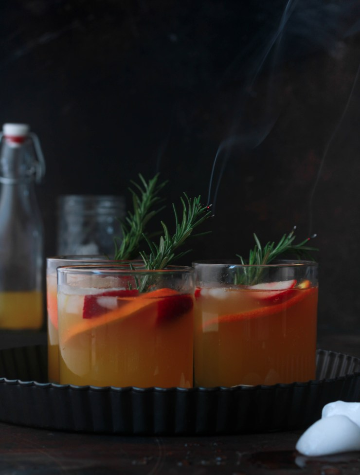 Rosemary and Mint Tropical Spritzer