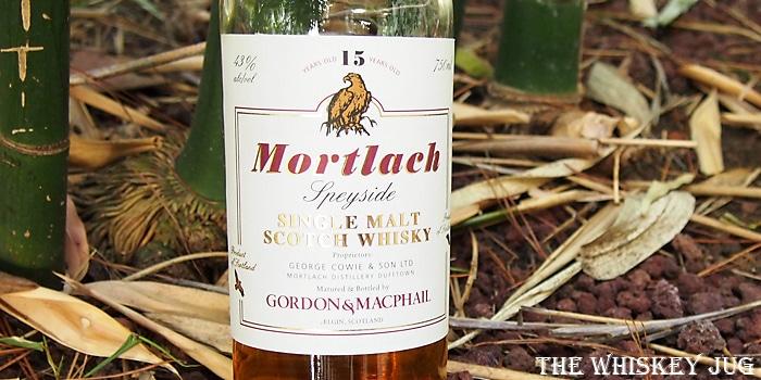 Gordon & Macphail Mortlach 15 Years Label