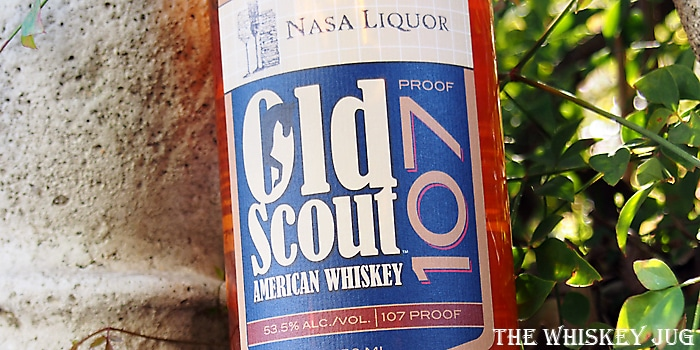 Old Scout American Whiskey Label