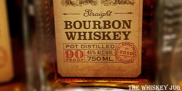 Woodinville Straight Bourbon Label