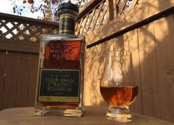A.D. Laws Four Grain Straight Bourbon