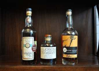 Maple-finished whiskey