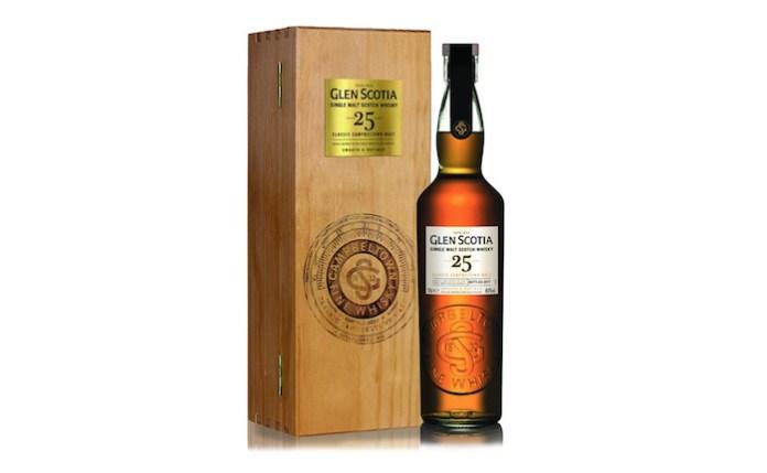 25 year old Glen Scotia Single Malt Whiskey