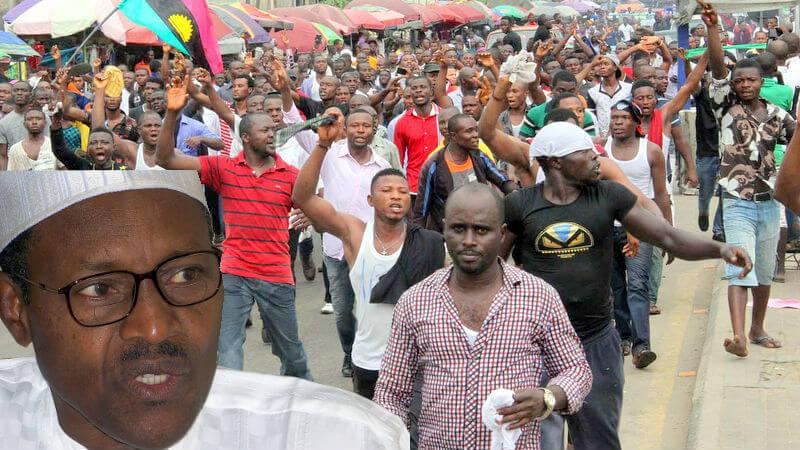 Image result for buhari vs biafrans
