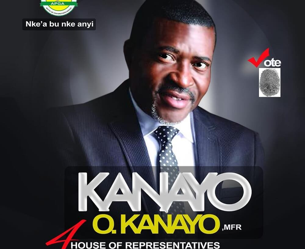 Veteneral Nollywood Actor Kanayo O. Kanayo Releases Official Political Campaign Posters