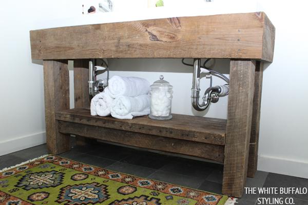 Barnwood Bathroom Vanity Diy Image Of Bathroom And Closet