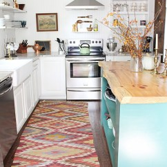 Rugs For Kitchen Unfinished Wall Cabinets My Go To Source Vintage Thewhitebuffalostylingco Com Kilim Runner