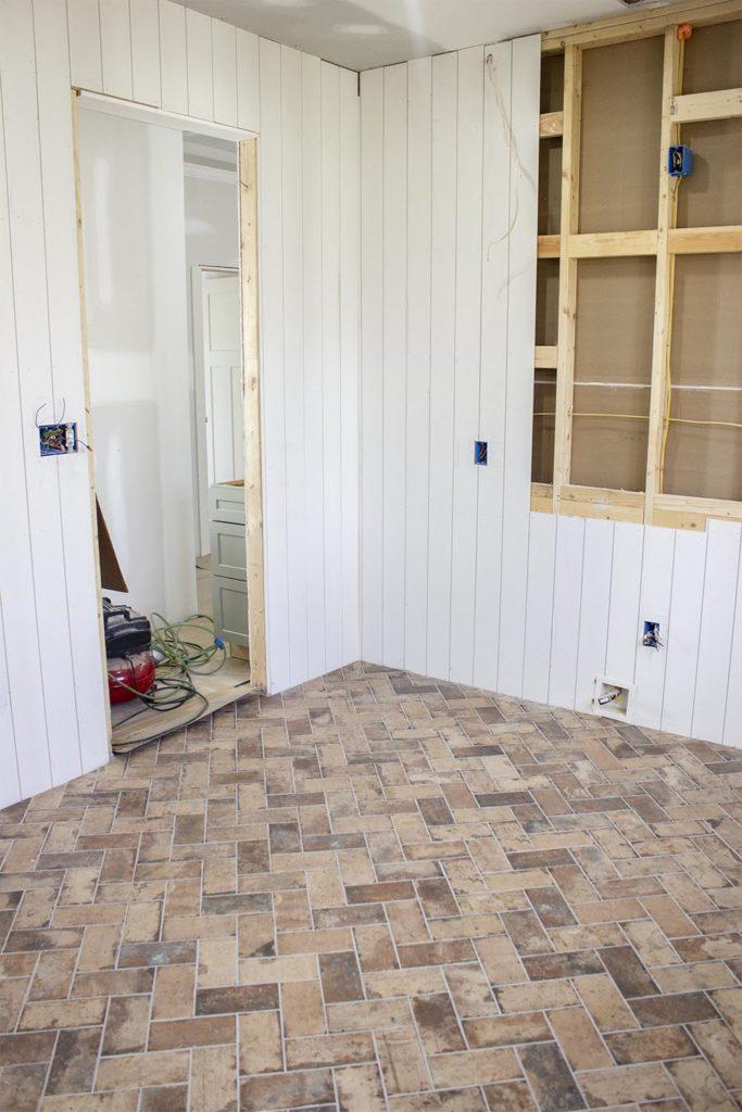 tips for installing brick floors