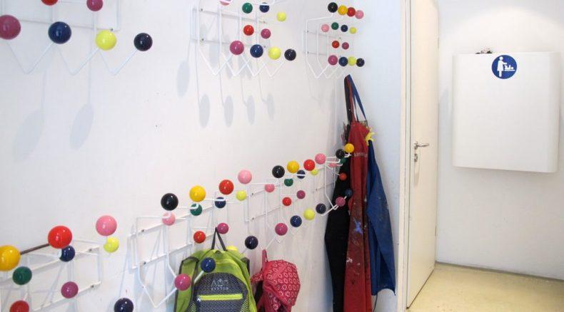 Kinderkunsthaus - Garderobe
