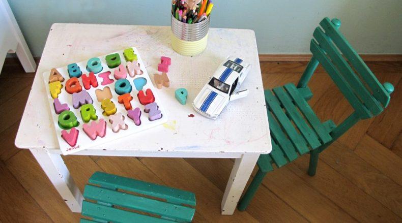 Jungszimmer - Spieltisch Detail