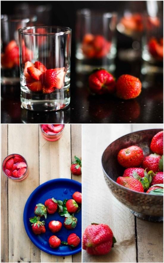 Strawberry Jelly With Vanilla Bean Panna Cotta 5