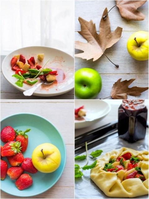Strawberry & Apple Galette 2