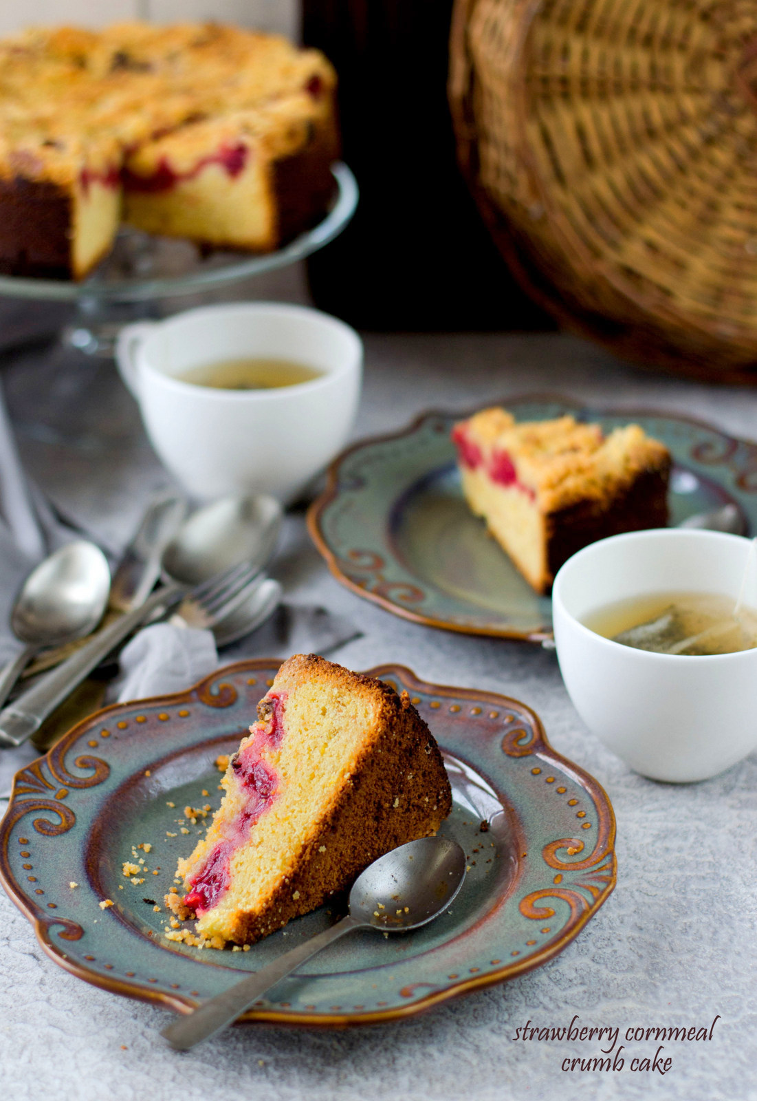 Indian Cornmeal Cake Recipe