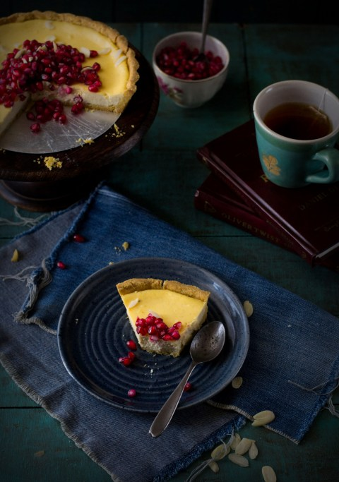 Greek Yogurt Tart With Gluten Free Crust