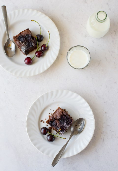 Wholegrain Cherry Brownies