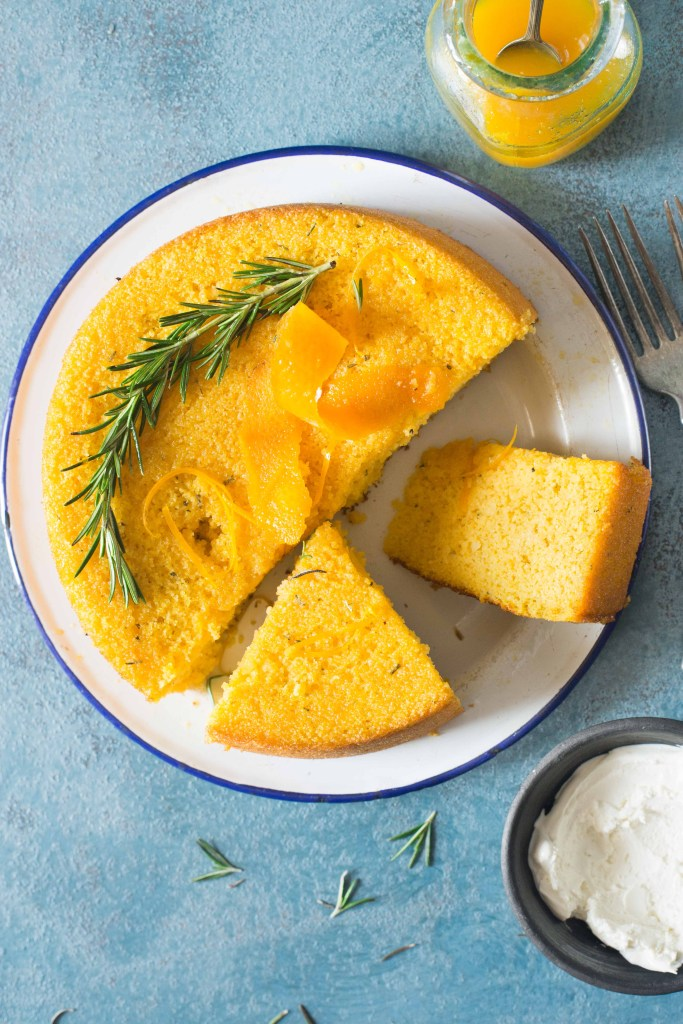Whole Orange Syrup Cake