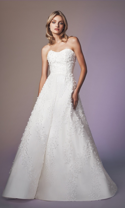 anne barge blue willow wedding gown