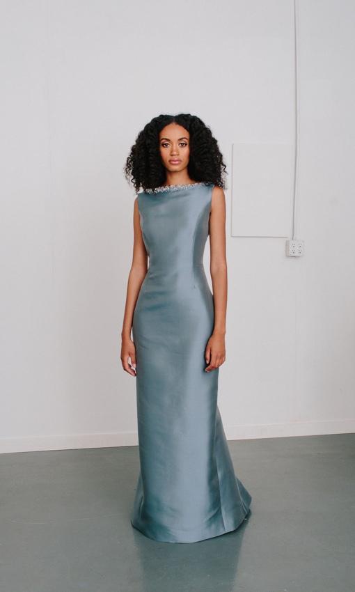 Catherine Regehr grey dress